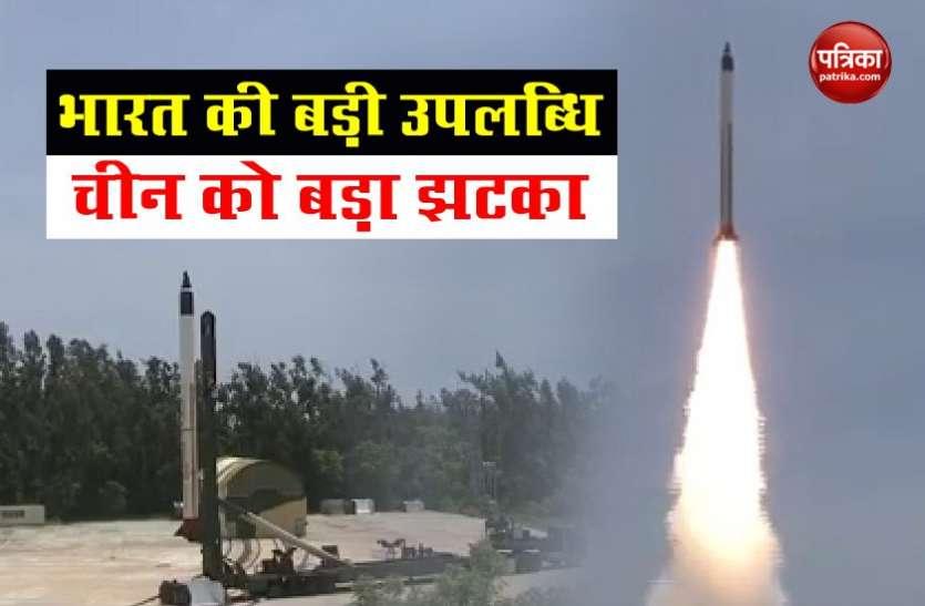 भारत का चीन को बड़ा झटका, HSTDV के सफल परीक्षण से Hypersonic Missile Club में एंट्री