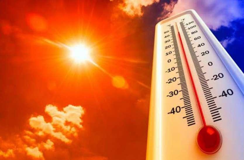 तीखी धूप और गर्मी ने किया परेशान