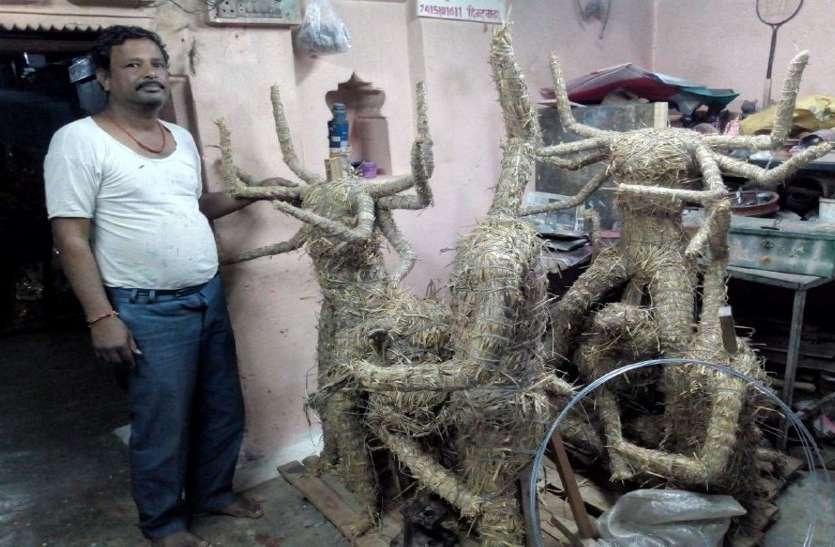 Corona effect: नवरात्र में मूर्तिकारों की दूर होगी आर्थिक संकट, गाइडलाइन का इंतजार