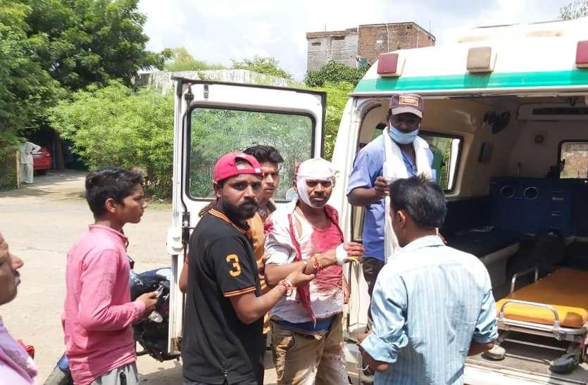 दो पक्षों में खूनी संघर्ष, नौ लोग घायल