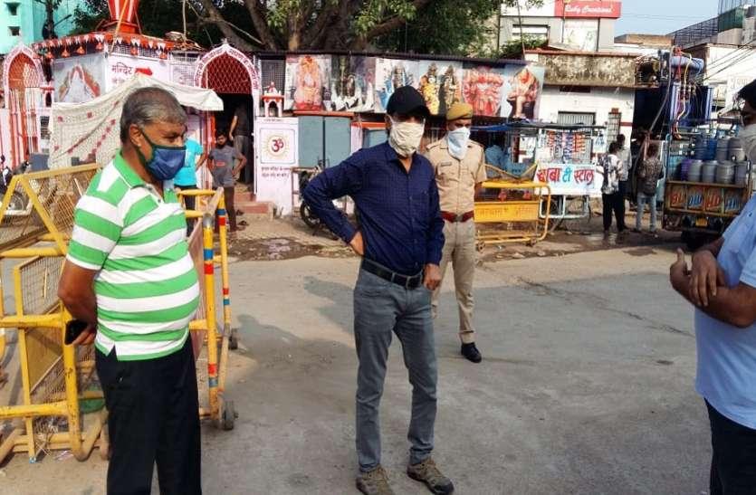 कोटा में मंत्रीजी जिस रूट पर जाने थे, वहां ही फैला हुआ था कचरा