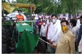 जिले में पांच गौशालाओं सहित तीन करोड़ के कार्यों का शिलान्यास