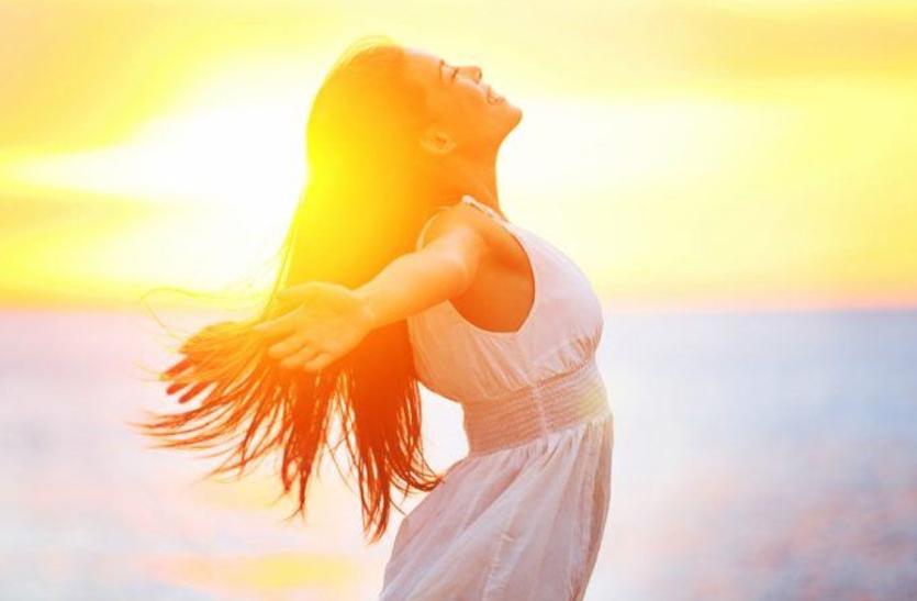 सूर्य की किरणों में मौजूद रंग सेहत भी संवारते हैं