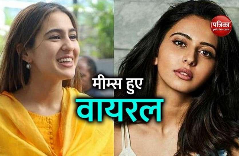 NCB की पूछताछ में रिया चक्रवर्ती ने खोले कई राज, ड्रग्स केस में नाम आने के बाद Sara Ali Khan पर बने मजेदार मीम्स