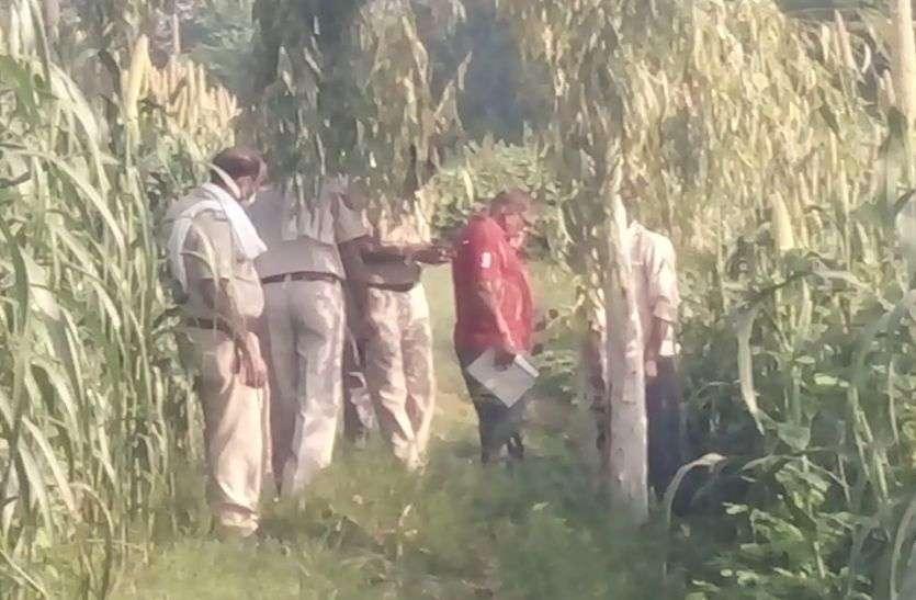 लहसोड़ा गांव में पेड़ से लटका मिला शव
