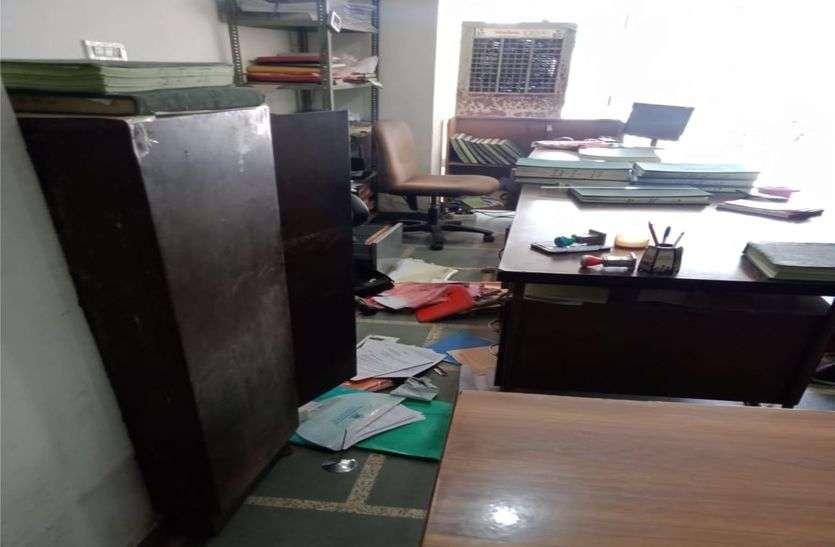 भांकरोटा सहकारी समिति में चोरों का धावा