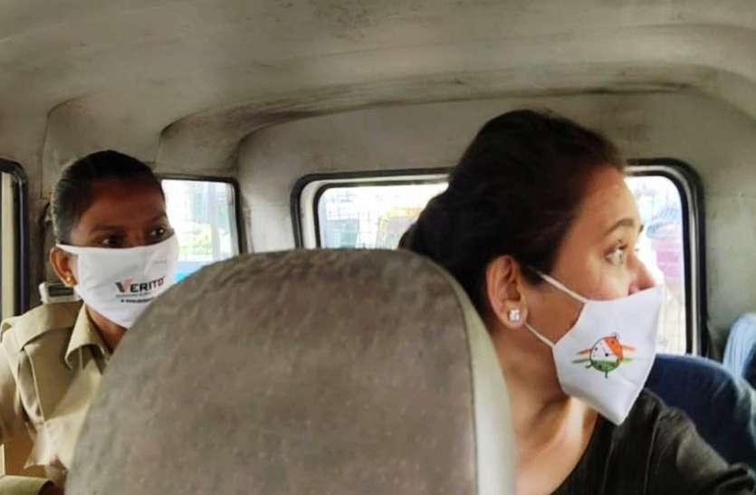 Ahmedabad, Rajkot News : एनसीपी नेता रेशमा पटेल हिरासत में