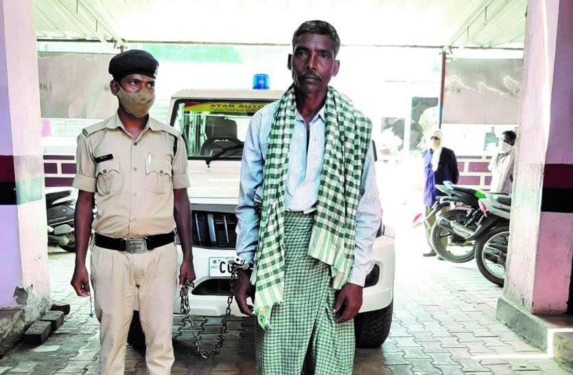 अस्पताल से पुलिसकर्मियों को चकमा देकर फरार बलात्कार का बंदी 3 महीने बाद गिरफ्तार, पत्नी-बच्चों से मिलने जा रहा था घर