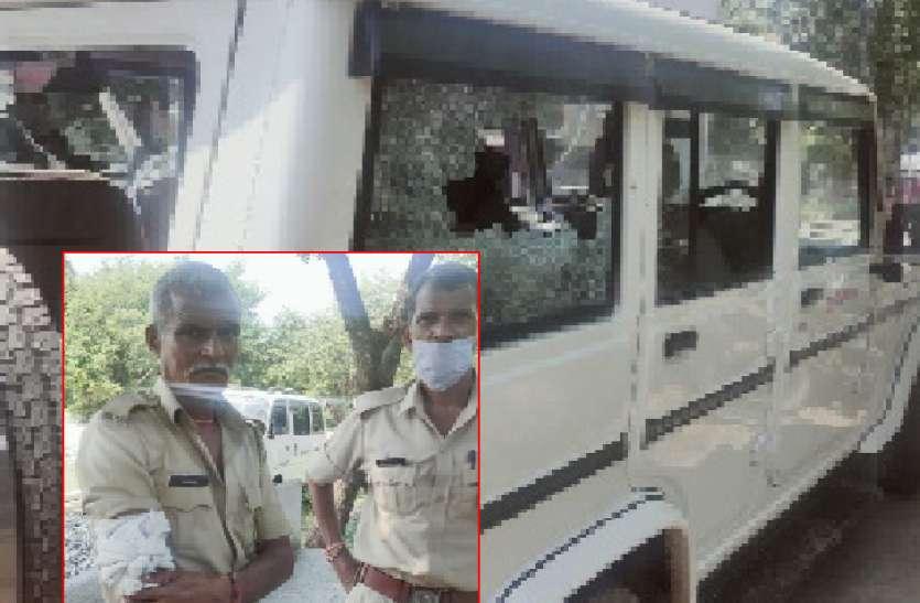 विद्युत चोरी पकडऩे गए विजिलेंस दल पर ग्रामीणों ने किया हमला