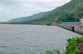 बीसलपुर बांध का गेज 313.51 आरएल मीटर पर स्थिर