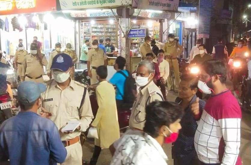 जबलपुर में एंटी कोरोना टास्क फोर्स ने 489 लोगों का किया चालान
