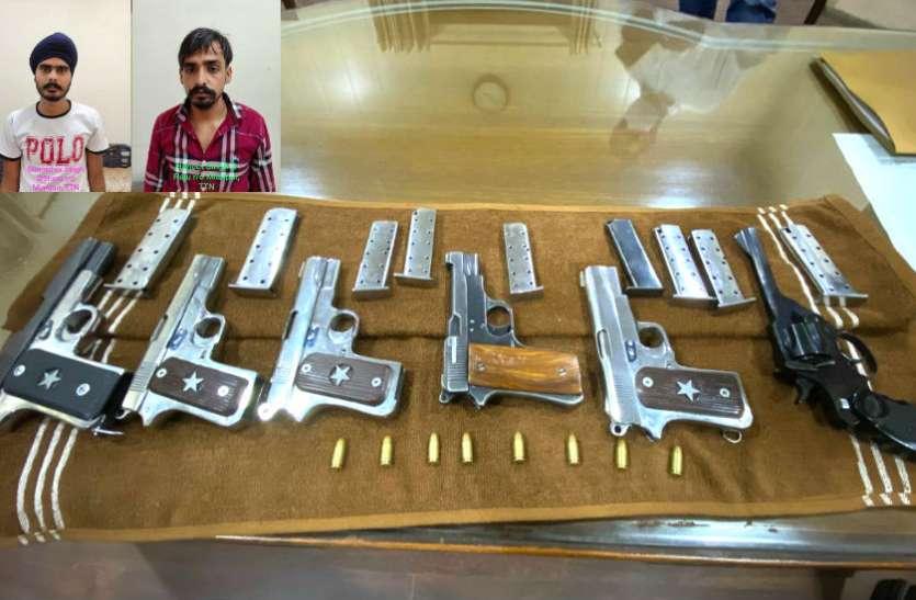 आतंकवादी हमले की बड़ी साजिश नाकाम, केजेडएफ के दो लोग पकड़े, हथियार बरामद