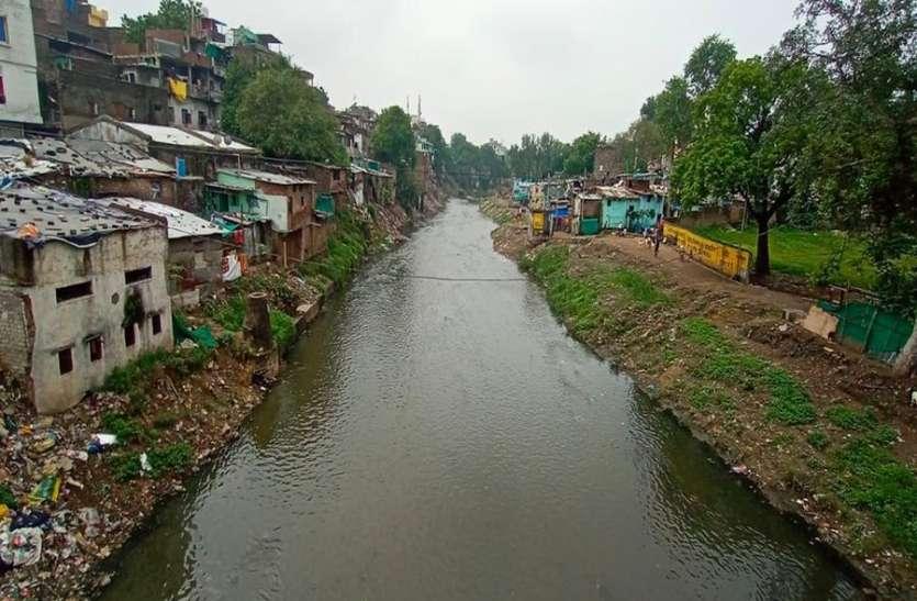 रिवर फ्रंट साइड डेवलपमेंट : कान्ह-सरस्वती किनारे के 1800 परिवार होंगे शिफ्ट