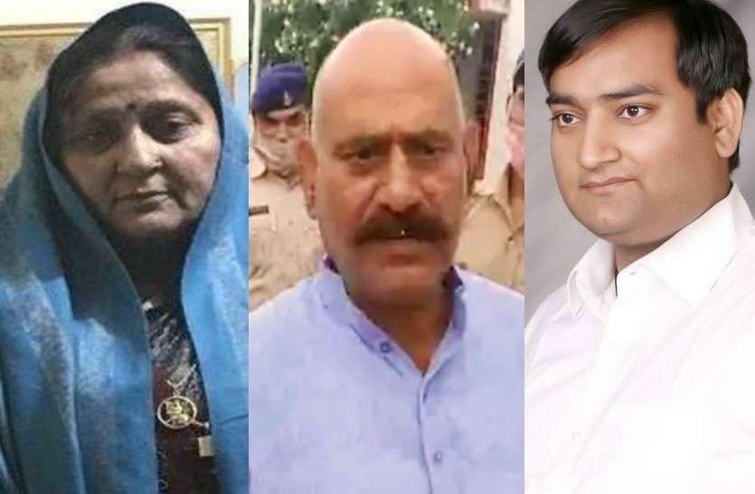 बाहुबली विजय मिश्रा की एमएलसी पत्नी और बेटे घोषित हुए भगोड़े, कुर्की का नोटिस जारी