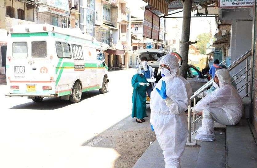 राजस्थान में कोरोना के सुबह जारी आंकड़ों ने फिर तोड़ा रिकॉर्ड, 802 नए मरीज मिले