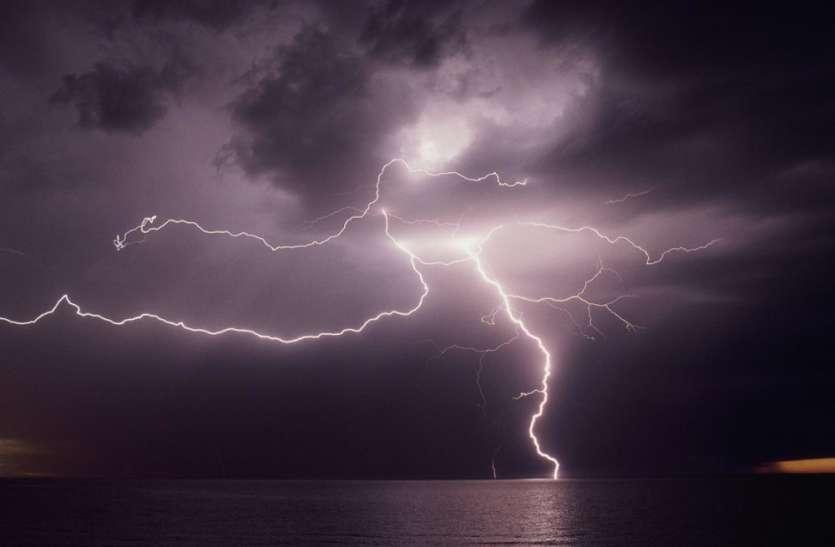 आकाशीय बिजली की चपेट में आने से 24 की मौत, सीएम ने जताया दुख, चार-चार लाख सहायता पहुंचाने का दिया आदेश