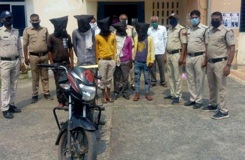 बायपास पर हुई लूट के आरोपियों को बरगवां पुलिस ने पकड़ा, जानिए कैसे हुई वारदात