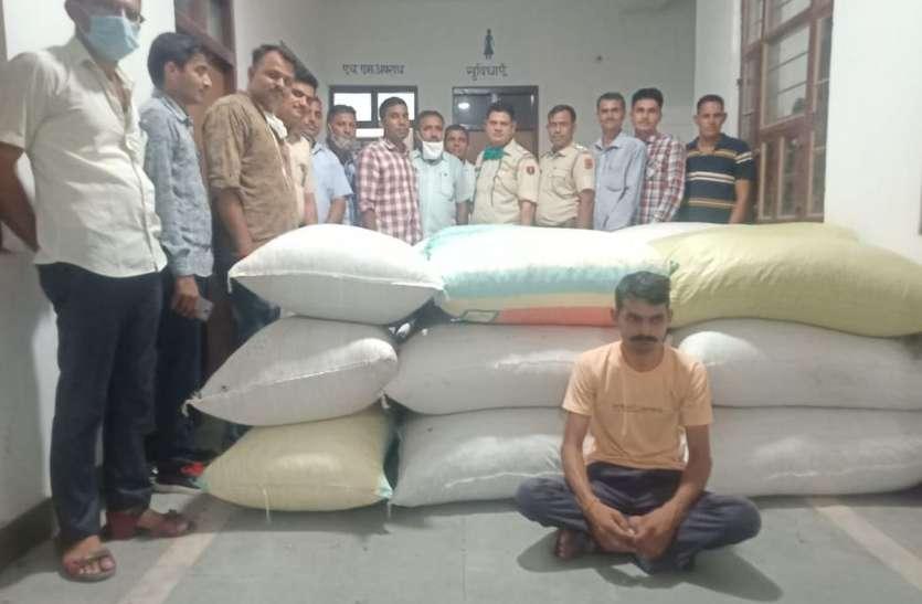 पंचायत चुनाव के लिए बिहार से लाया 658 किलो डोडा पोस्त जब्त
