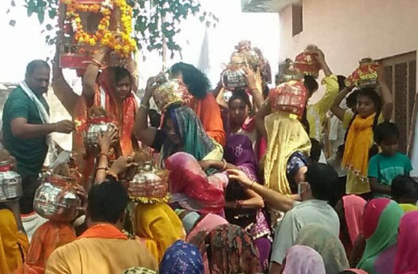 राम शिला पूजन एवं युवा स्वाभिमान यात्रा का शुभारंभ, पहुंची गांवों में
