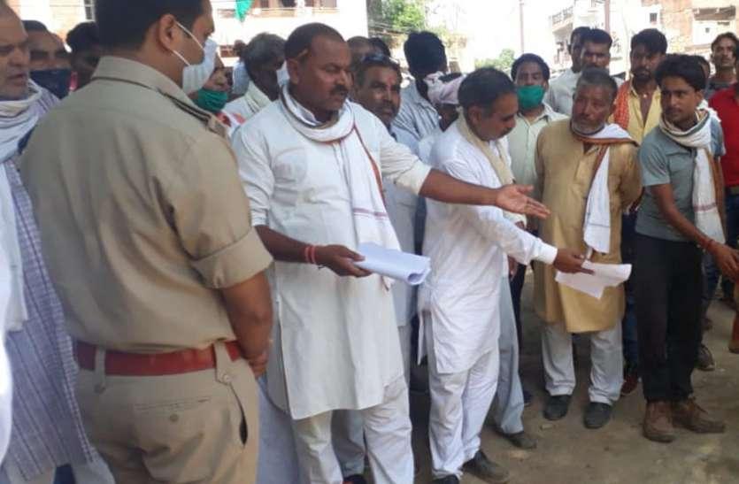 ग्रामीणों से मारपीट करने वाली शिवपुरी की एडी पुलिस टीम पर केस दर्ज