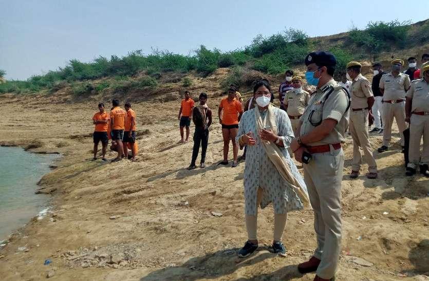 चंबल नदी दुखान्तिका: मृतकों की संख्या 13 हुई, नदी से दो बालिकाओं के शव निकाले, गमगीन माहौल में हुआ अंतिम संस्कार
