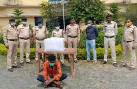 ढाई लाख रुपए की अवैध नशीली दवाइयों के साथ युवक गिरफ्तार, बिहार से लाकर कमाता था मोटा मुनाफा