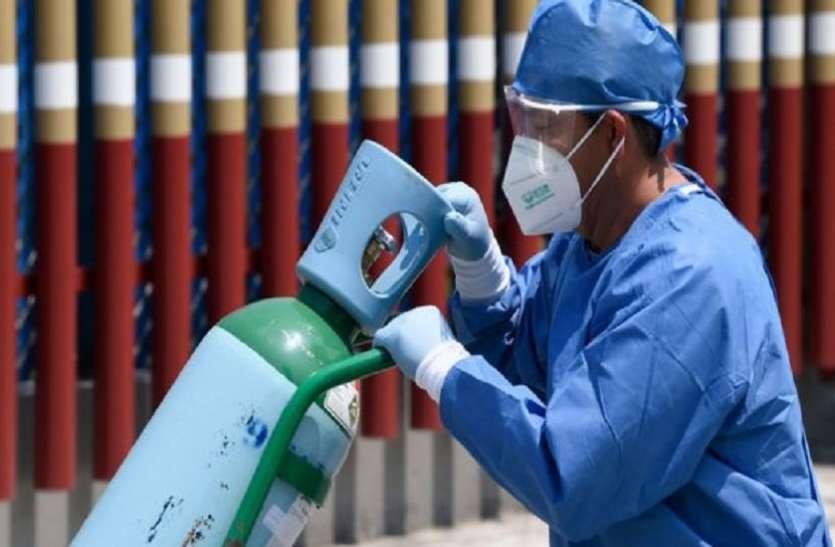 50 फीसदी घटी मेडिकल ऑक्सीजन की मांग