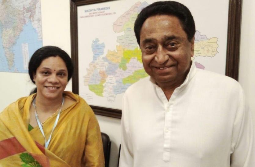 कमलनाथ से मिलीं BJP नेता पारुल साहू, मंत्री गोविंद सिंह के खिलाफ लड़ सकती हैं चुनाव, 2013 में दे चुकी हैं मात