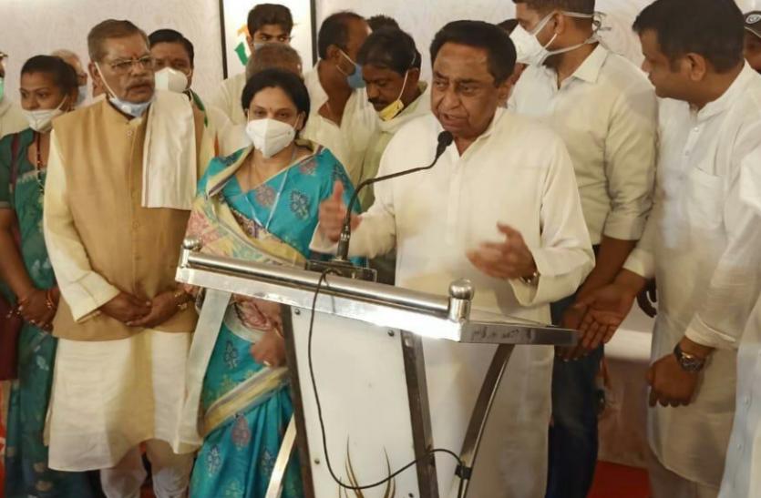 कांग्रेस में शामिल हुईं BJP नेता पारुल साहू, मंत्री गोविंद सिंह के खिलाफ लड़ सकती हैं चुनाव