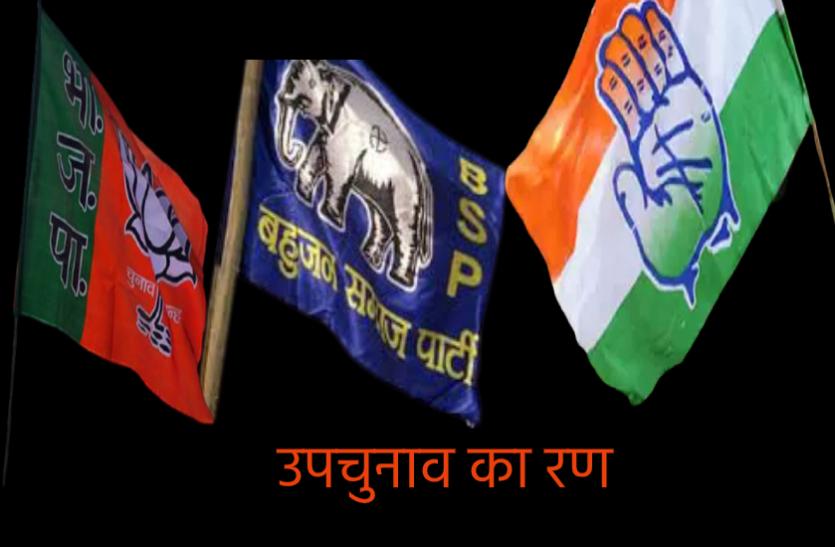 उपचुनाव के रण में बसपा: त्रिकोणीय होगा मुकाबला, जानिए BSP की एंट्री से किस पार्टी का बिगड़ सकता है समीकरण