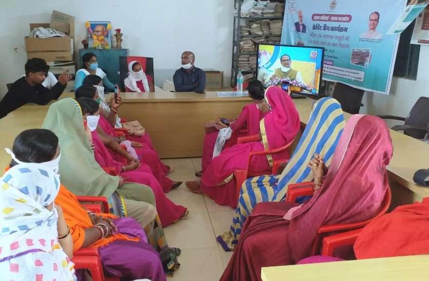 जिले में 271 समूहों का 431 लाख रुपए का क्रेडिट लिंकेज