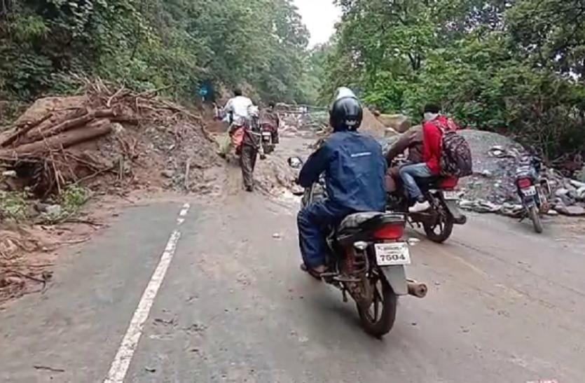 बालाघाट से बैहर पहुंच मार्ग में शुरू हुआ आवागमन