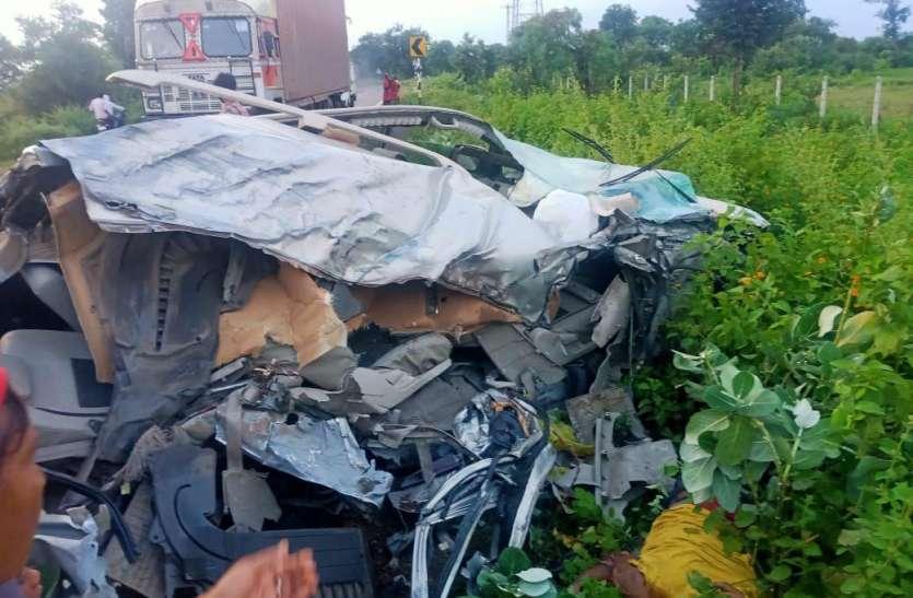 Horrific accident:पाटन-तेंदूखेड़ा हाईवे पर भीषण एक्सीडेंट, जबलपुर के युवक की मौत