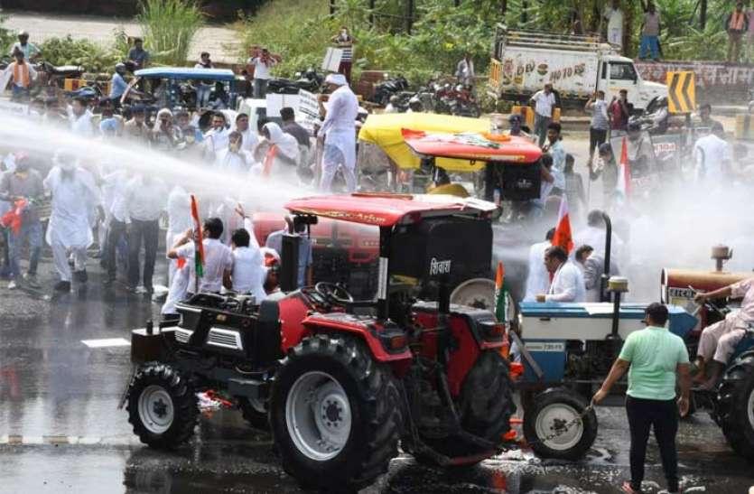Tractor yatra Haryana to delhi police stopped at border latest news