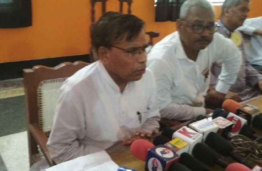राज्यसभा में बिना मतदान बिल पास करना किसानों के पीठ में छुरा भोंकने जैसा : मुकुट सिंह