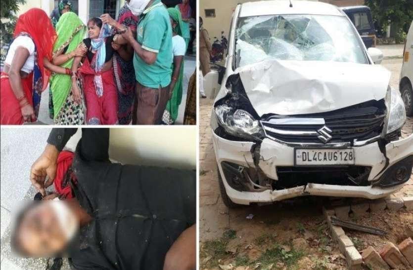 दर्दनाक: कंपार्टमेंट परीक्षा देने जा रहे छात्र की सड़क दुर्घटना में मौत, दो घायल