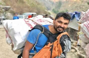 हिमालय की गंदगी देख विचलित हुए, अब सफाई में इनके साथ पांच हजार स्वयंसेवक