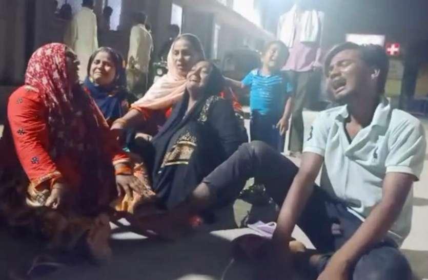 Ghaziabad: पुलिस हिरासत में एक व्यक्ति की मौत के बाद हंगामा, पुलिस पर लगे गंभीर आरोप