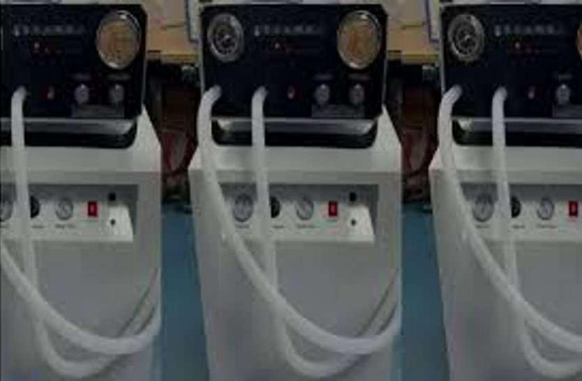 Gujarat : सरकार ने सयाजी अस्पताल को दिए 40 वेंटीलेटर