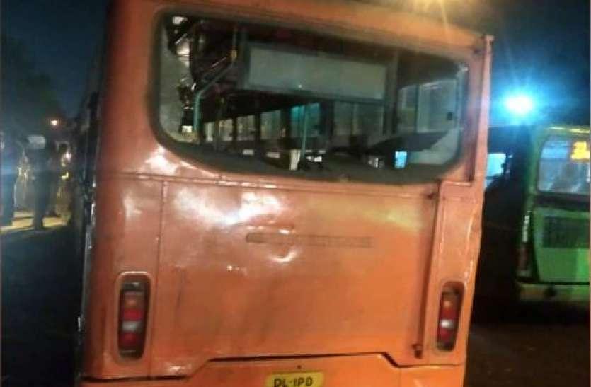 Delhi में तेज रफ्तार बस ने बच्चे और महिला समेत सात लोगों को कुचला, तीन की मौत
