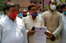 सुनील सिंह साजन - काला कानून वापस ले  नहीं तो बीजेपी अंग्रेजों की भूमिका में होगी