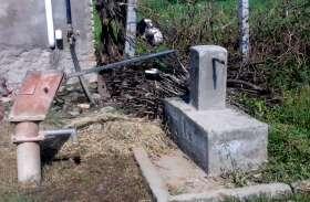 देवीखेड़ा में दम तोड़ रही बीसलपुर पेयजल परियोजना, एक बार भी नहीं आया नलों में पानी