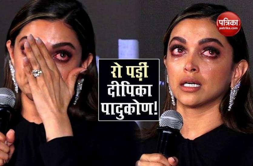 क्या एनसीबी के सामने Deepika Padukone ने खेला इमोशनल कार्ड? पूछताछ के दौरान तीन बार रो पड़ीं