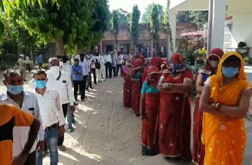 गांवों की सरकार चुनने में मतदाताओं ने दिखाया उत्साह