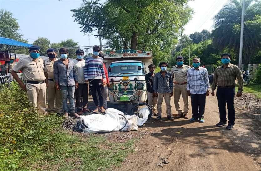 रेलवे का सामान चोरी करने वाले छह आरोपियों को आरपीएफ ने किया गिरफ्तार