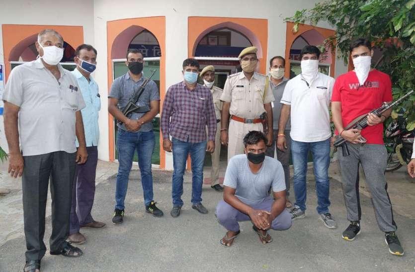 हरियाणा से फरार प्रेमिका की हत्या का आरोपी गणेशपुरा में दबोचा