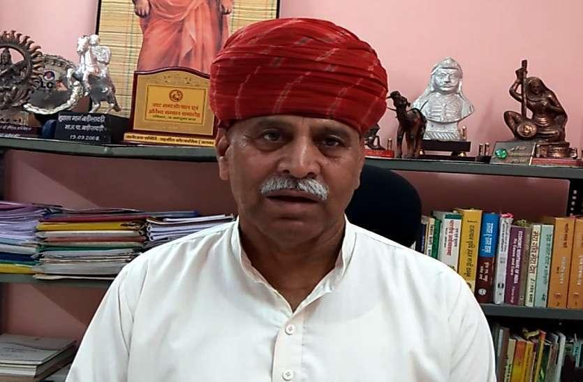 किसानों को 117 करोड़ रुपए के घाटे की संभावना: रामपाल जाट
