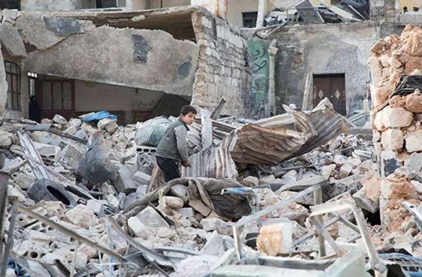 Syria: युद्धग्रस्त इलाकों में भूख से पीड़ित बच्चों की संख्या सात लाख तक पहुंची