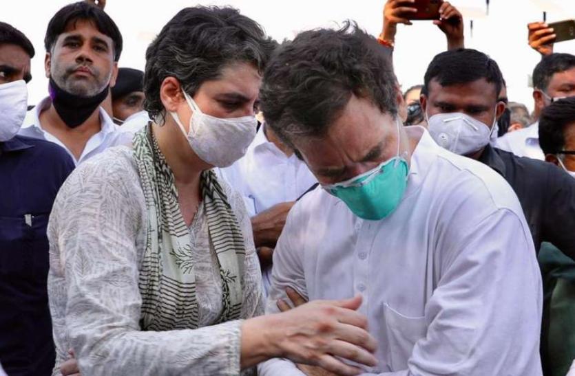 हाथरस जा रहे राहुल गांधी को हिरासत के बाद छोड़ा गया