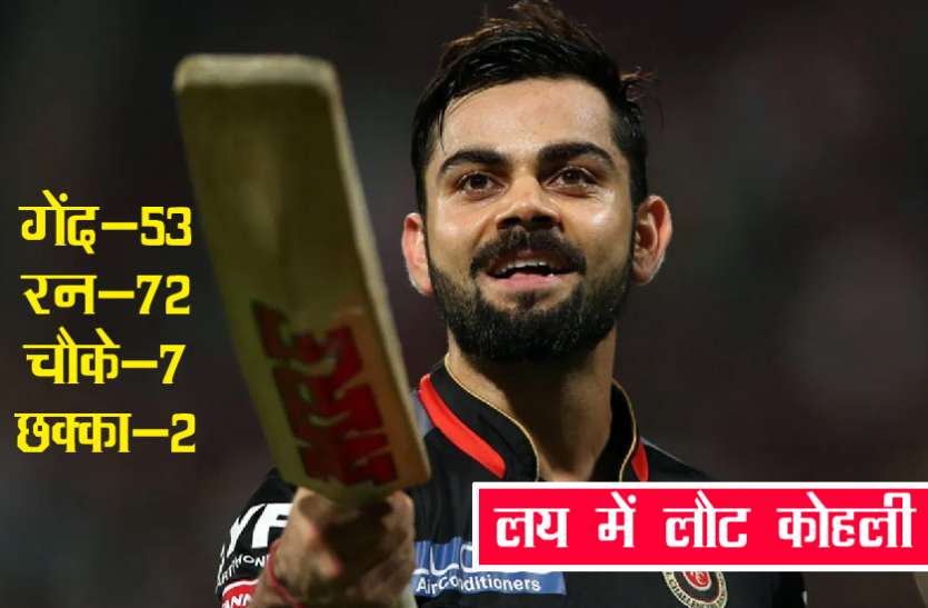 RCB vs RR: IPL 2020 में तीसरी जीत दर्ज करने के बाद विराट कोहली ने कही यह बड़ी बात